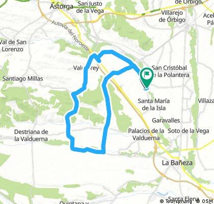 Santibañez-Castrillo-Bustos-Villamontan-Riego-Santibañez