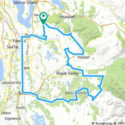 Kent Valley & Black Diamond Hills