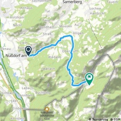 Schwarzrieshütte ab Nussdorf