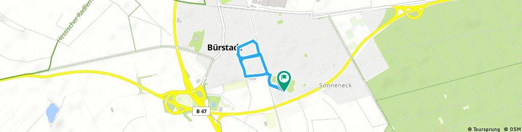Kurze Radrunde durch Bürstadt