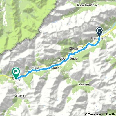 Radtour Lech / Etappe 02