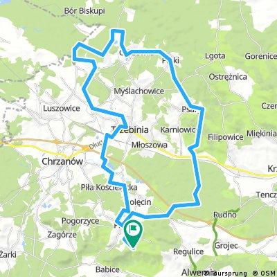Ziemia Chrzanowska - Trasa 1