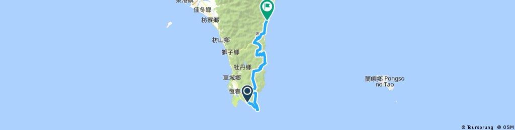 30/7 Day 7 墾丁→大武