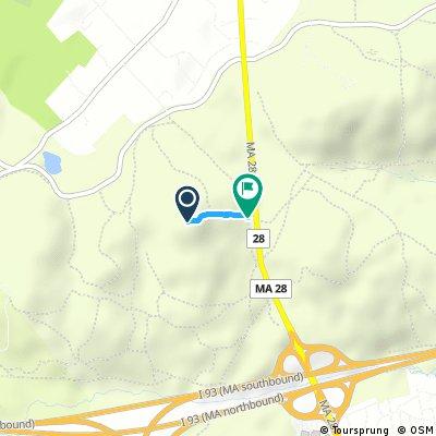 Test Route Blue Hills