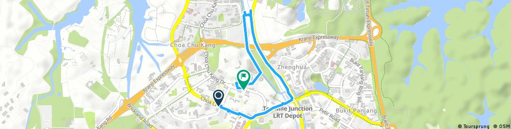 Short ride through Choa Chu Kang