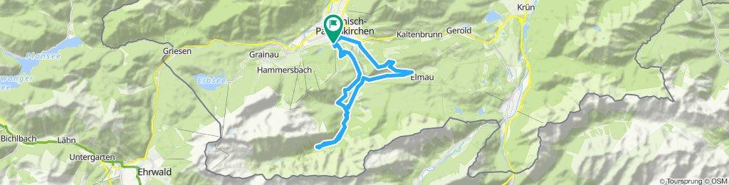 B07GAP-Garmisch Hausberg-Eckbauerbahn-Reintal bis zur Bockhütte