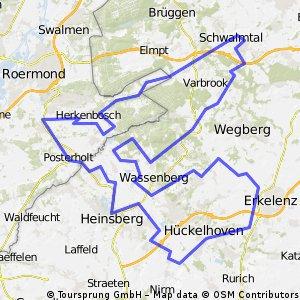 RTF Schwalmtal 2009 - 111er Strecke (Waldniel)