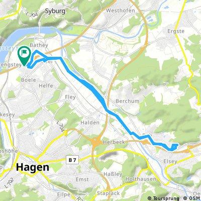 Radrunde durch Hagen
