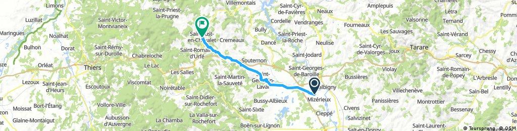 Villefranche-St Just de Chevalet Teil 2