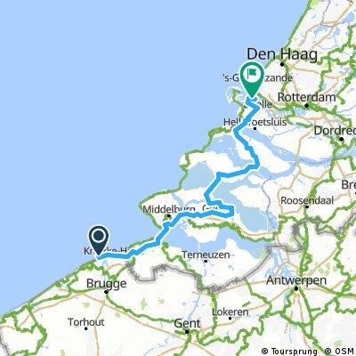 Zeebrugge to Europort May 2012