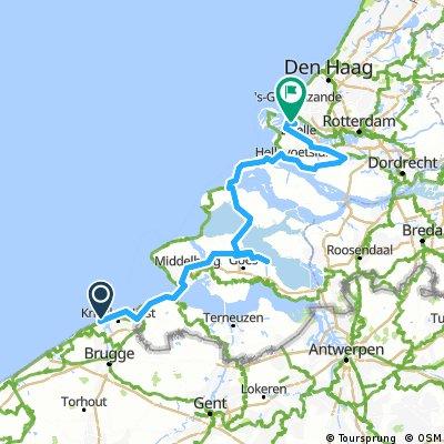 Zeebrugge to Europort 2013