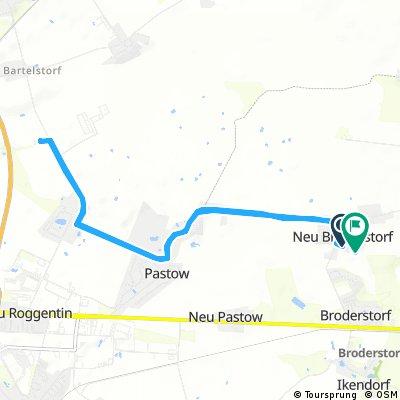 Radrunde durch Broderstorf