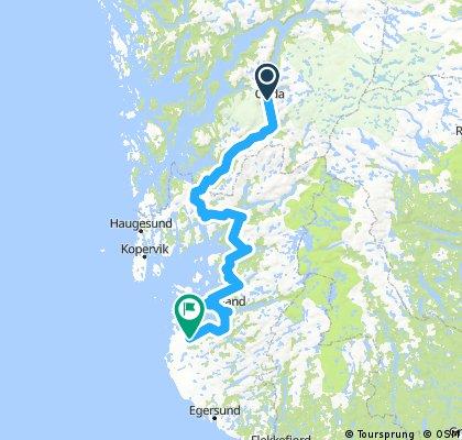 Odda - Stavanger - Norewy