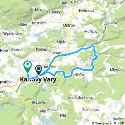 Karlovy Vary - Kyselka - Karlovy Vary