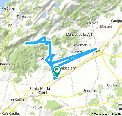 Quick ride through Consell