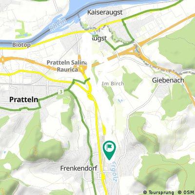 Schnelle Radrunde durch Füllinsdorf