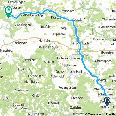 2016 Bayern Tour,Bühlertal-Kochertal Sindringen