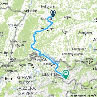 Berglen - Gaschurn (Version Neckar)