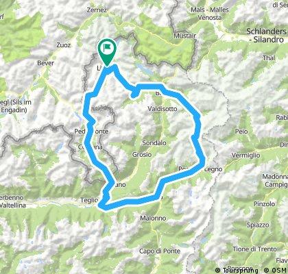 Livigno-Bernina-Aprica-Gavia-Bormio-Livigno