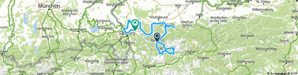 Salzkammergut Radweg R2 Variante 3