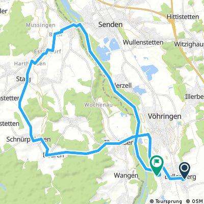 Staig - Kirchberg - Iller