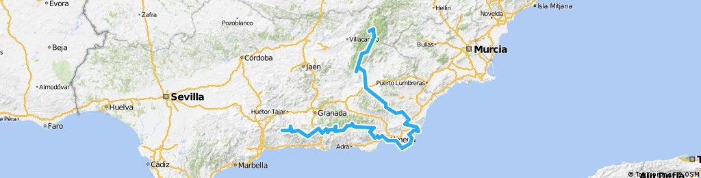Transandalus II. Granada-Almería-Jaén.