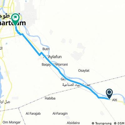 Reise 6 Etappe 15 Al Masid - Khartoum