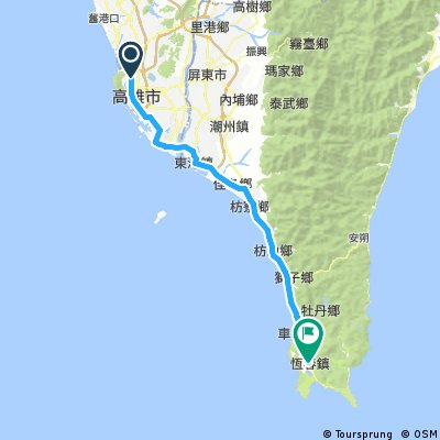 2016.8月環島第五天(高雄-屏東恆春)8/12
