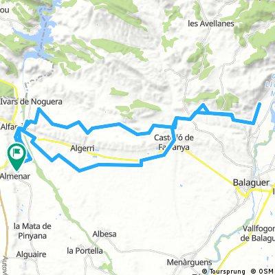 Almenar-Sant Llorenç