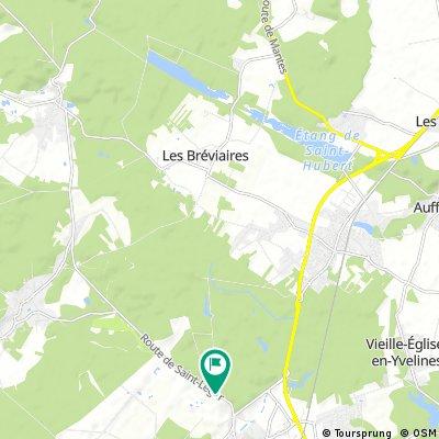 Route des étangs - Rambouillet