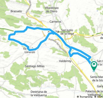 Santibañez-Santa Catalina de Somoza-Val de San Lorenzo