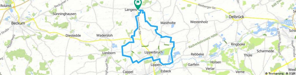Haus und Hof: Langenberg, Mastholte, Alberssee, Waldliesborn