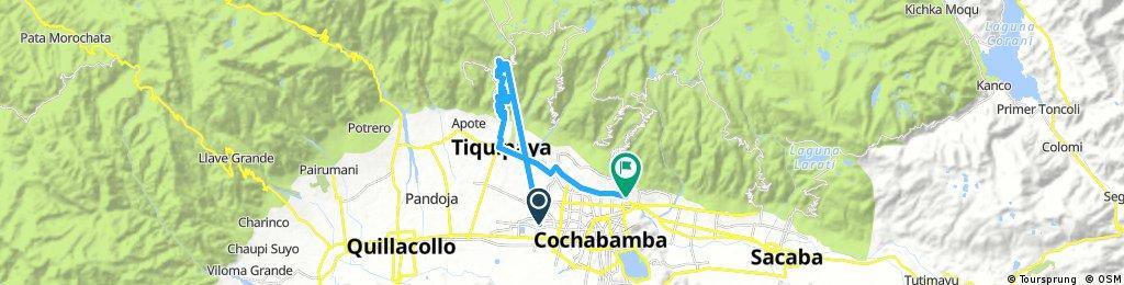 ride through tiquipaya