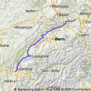 Büblikon - Montpellier / Tag 1 - 3