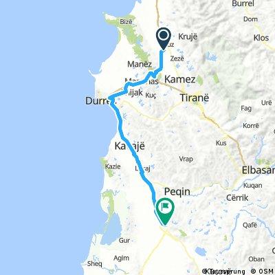 9 Tappa Fushë Krujë (AL) - Lushnjë (AL) 84 km