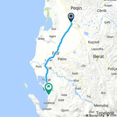 10 Tappa Lushnjë - Vlorë 73 km