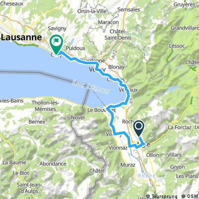 Swiss tour day 3
