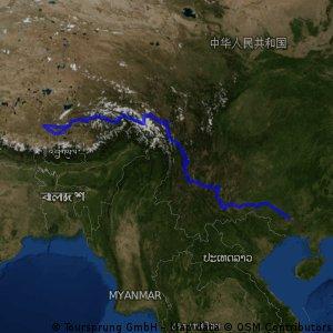 廣西南寧-西藏日喀則  單騎完成 (Sep-Dec 2009)