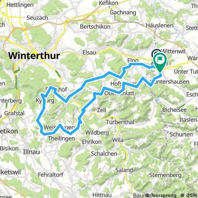 Aadorf - Kyburg