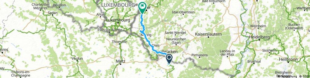 Saar-Radweg