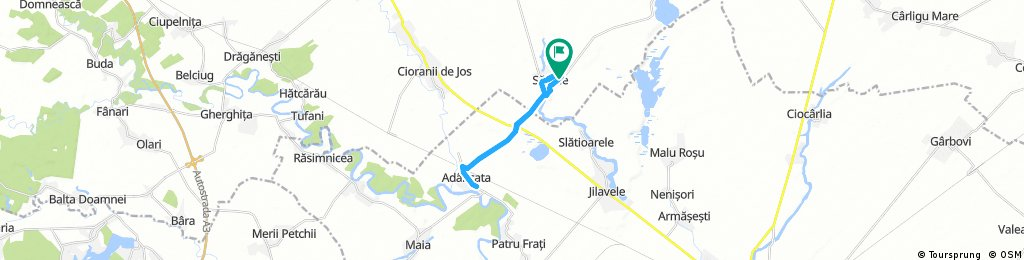 ride through Sălciile
