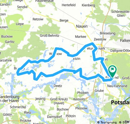Trainingsgruppe Potsdam Nord Route 1