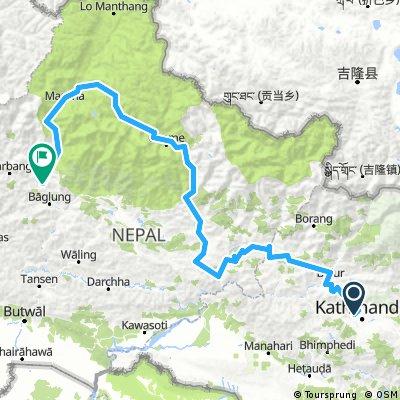 Kathmandu - Anapurna