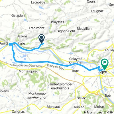 2016 Ride Day 129 - Clermont-Dessous to Agen
