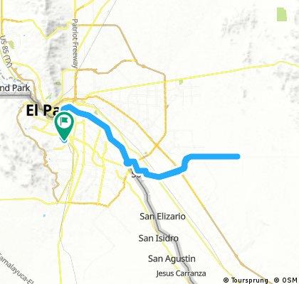 Lengthy bike tour from 25 de junio 5:24 AM