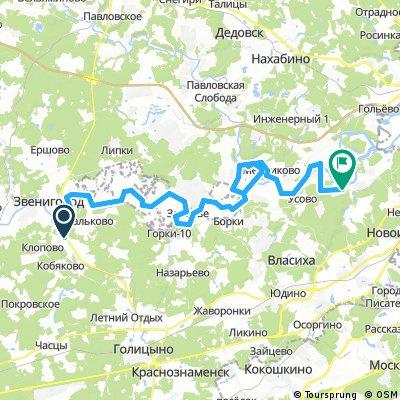Звенигород  - Москва-река