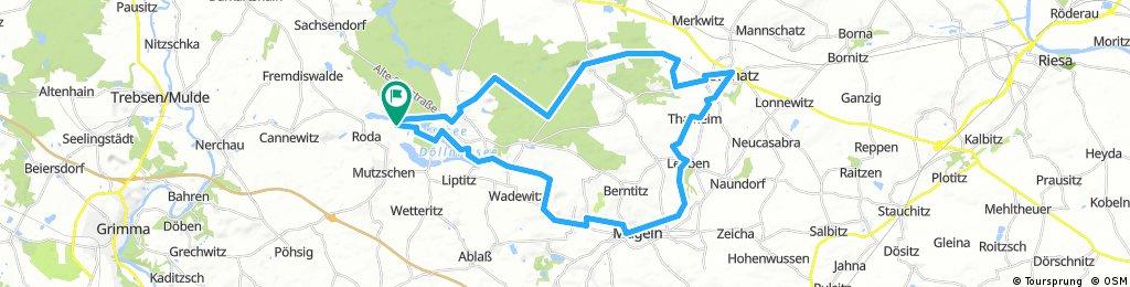 Rundkurs Mulde Elbe Döllnitztal