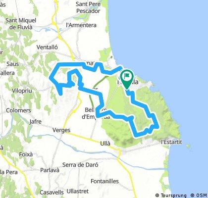 MTB spain puig segala  47 km