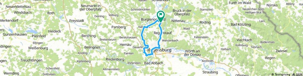 Training Naabtal/Regental - MH - Kallmünz - Regensburg - Regenstauf