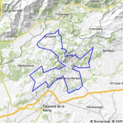 GR 63. Senda Viriato. Sierra de San Vicente